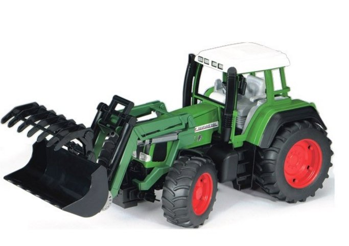 Bruder 02062 Трактор Fendt Favorit 926 Vario с погрузчиком