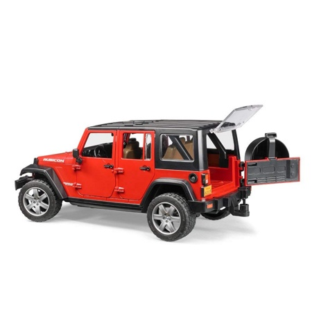 Bruder 02525 Внедорожник Jeep Wrangler Unlimited Rubicon