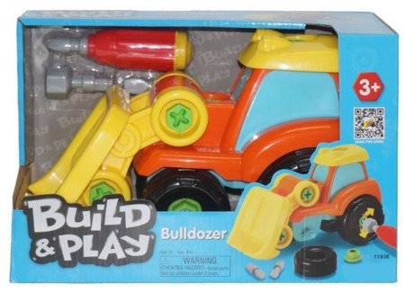 Бульдозер Build N Play Keenway 11938