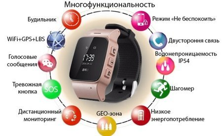 Умные часы Smart Age Watch Wonlex EW100
