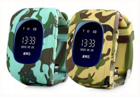 Детские умные часы Smart Baby Watch Wonlex Q50 Military