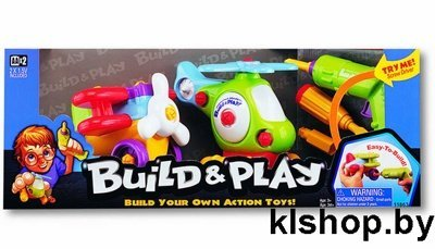 Keenway 11863 Build N Play ( Собери и Играй ) Аэроплан и Вертолет
