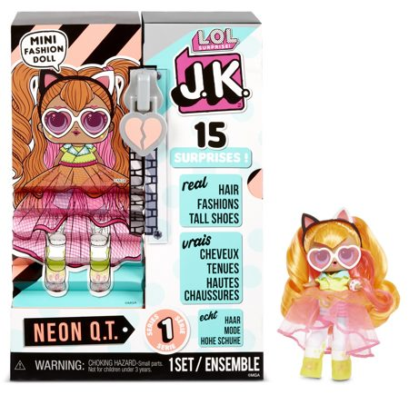 Кукла Lol JK Mini Fashion Doll Neon Q.T.