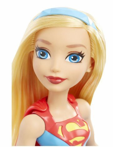 Кукла Супергёрл на тренировке DC Super Hero Girls DMM25