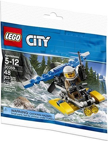 Лего 30359 Police Water Plane Lego City