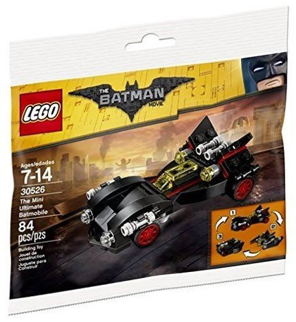 Лего 30526 The Mini Ultimate Batmobile Lego Batman Movie