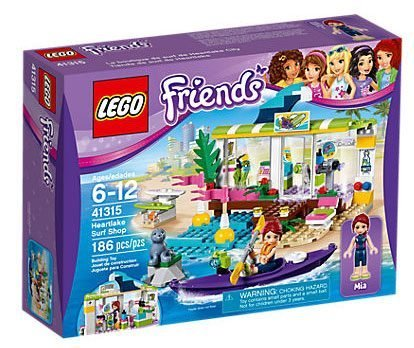 Лего 41315 Сёрф-станция Lego Friends