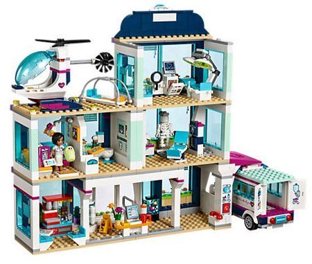 Лего 41318 Клиника Хартлейк-Сити Lego Friends