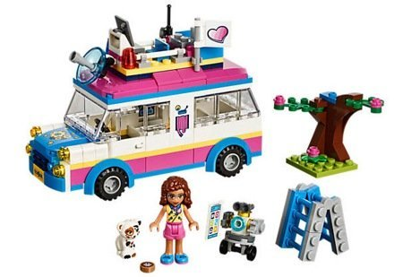 Лего 41333 Передвижная научная лаборатория Оливия Lego Friends