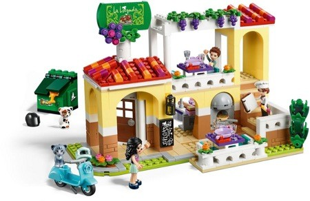 Лего 41379 Ресторан Хартлейк Сити Lego Friends