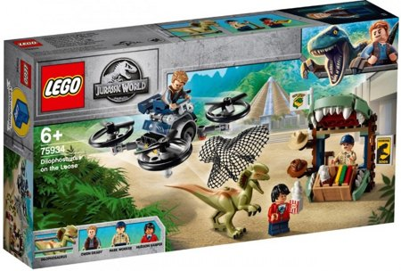 Лего 75934 Побег дилофозавра Lego Jurassic World