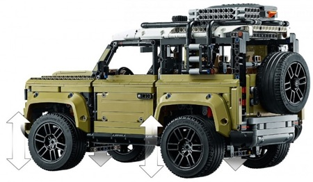 Лего Техник 42110 Land Rover Defender Lego Technic