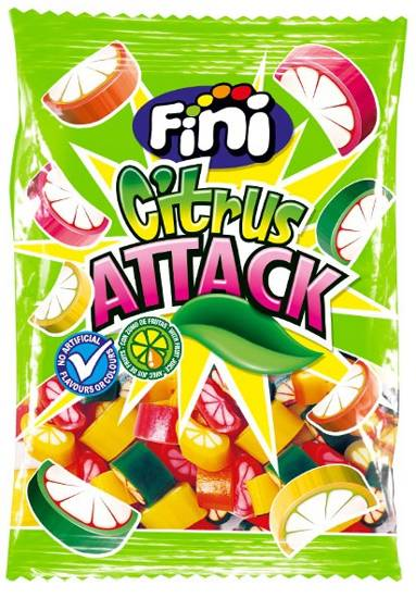 Мармелад Fini Citrus Attack 180 г (Испания)