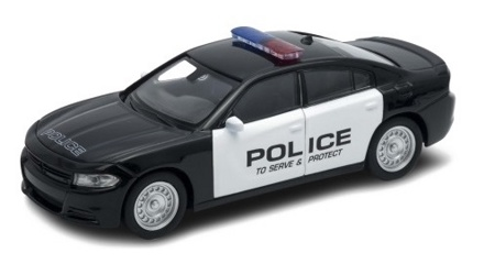 Модель машины 1:38 Dodge Charger Police Welly 43742P