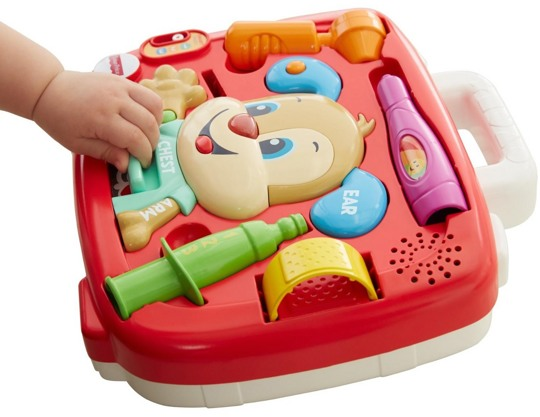 Медицинский набор Ученого Щенка Fisher Price FTC79