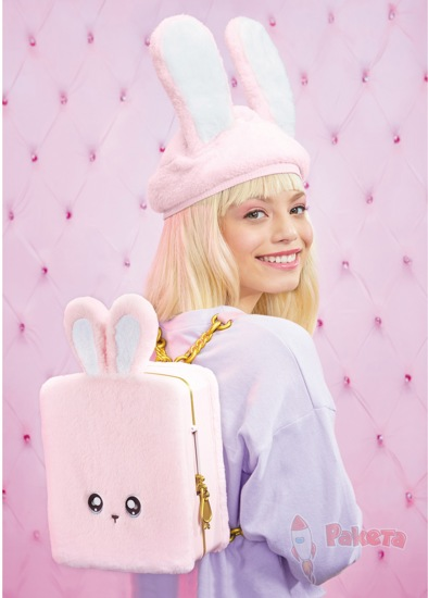Рюкзак-спальня Na Na Na Backpack Bedroom Pink Bunny
