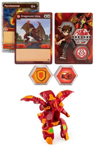 Шар-трансформер Bakugan Armored Alliance Dragonoid Ultra 20122468