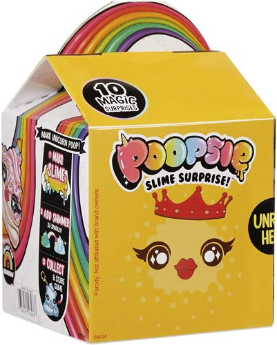 Слайм Poopsie Slime Surprise Drop 4 Multicolor
