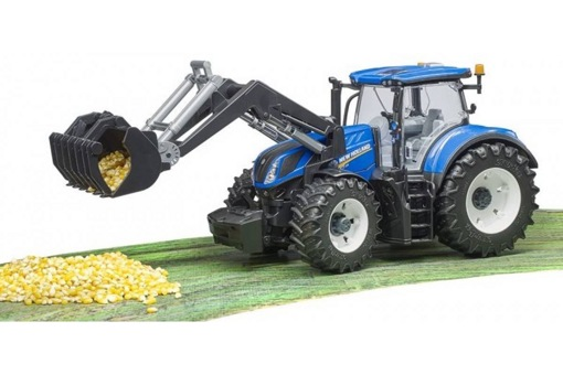 Трактор New Holland T7.315 с погрузчиком Bruder 03121