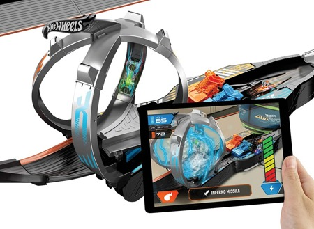 Умная трасса Augmoto Augmented Reality Racing Track Set Хот Вилс FWK44